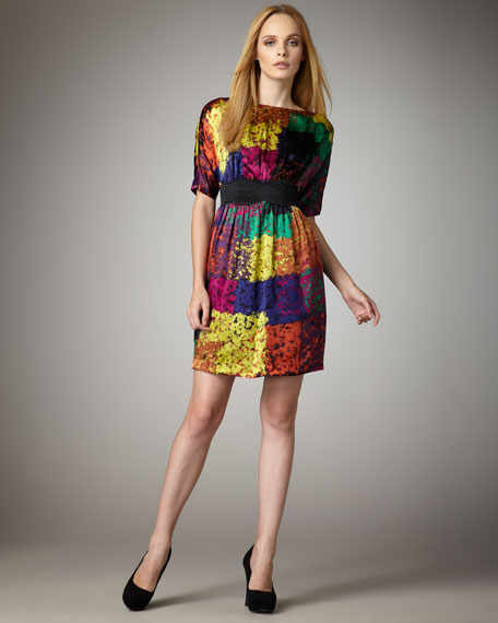 Fosse Shanghai Silk Dress