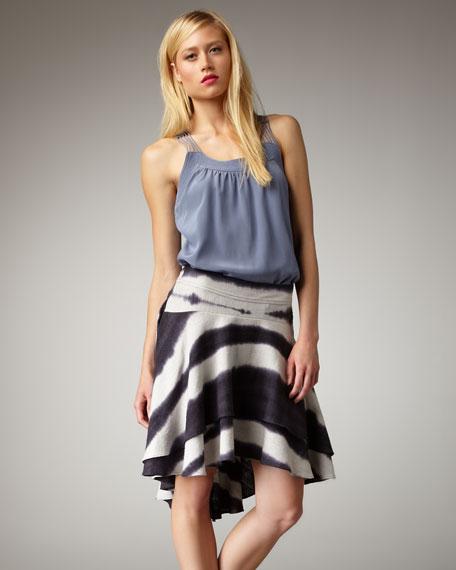 Totem Tie-Dye Skirt