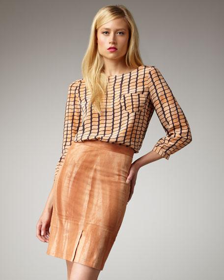 Azalea Pencil Skirt