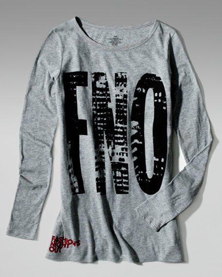 Fashion's Night Out Long-Sleeve Tee