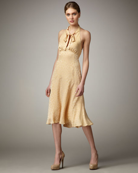 Silk Dress, Bare