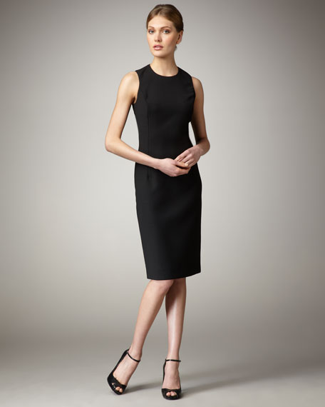 Wool Dress, Black