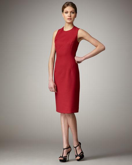 Wool Dress, Rouge