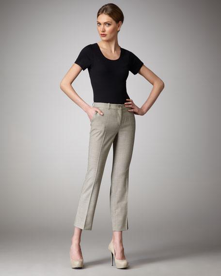 Mini-Houndstooth Pants