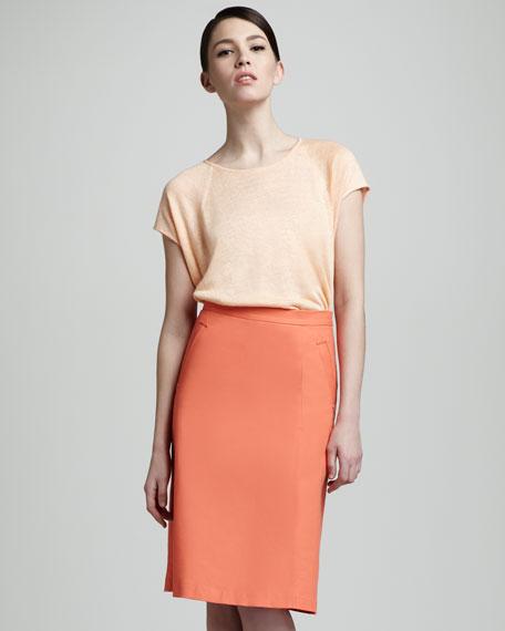 Regis Pencil Skirt