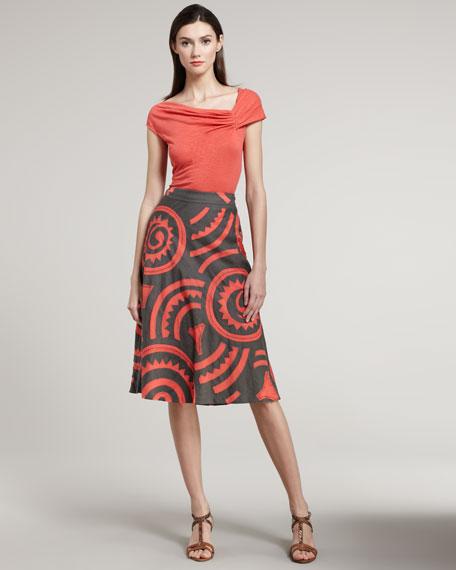 Lyla Embroidered Skirt