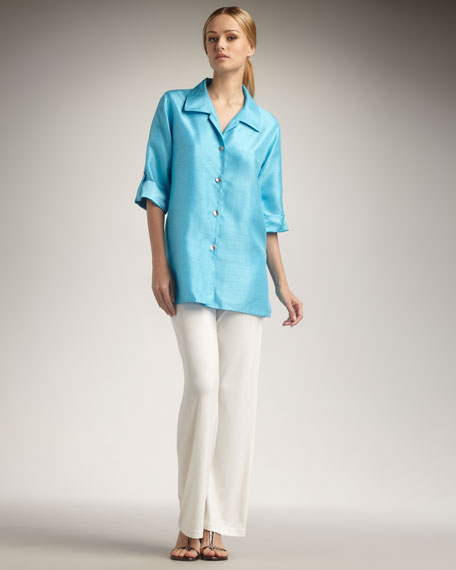 Tab Blouse, Women's