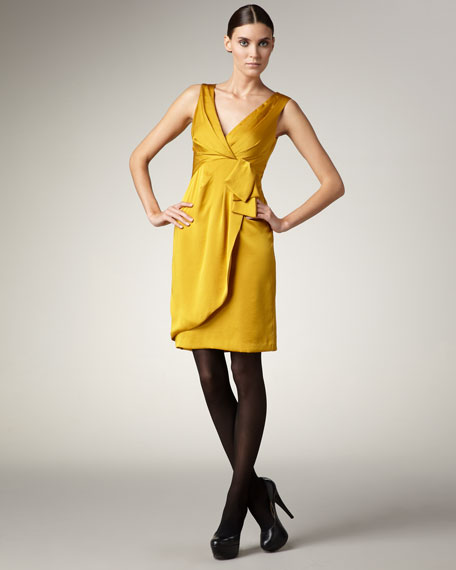 Feel Pretty Satin Dress