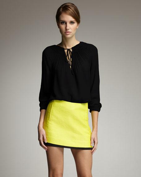 Elly Bicolor Miniskirt