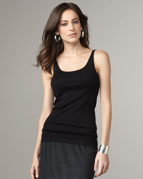 Long Ribbed Camisole