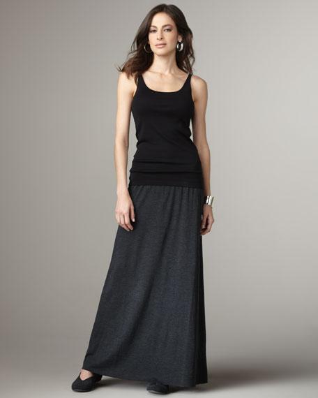 Merino Knit Maxi Skirt