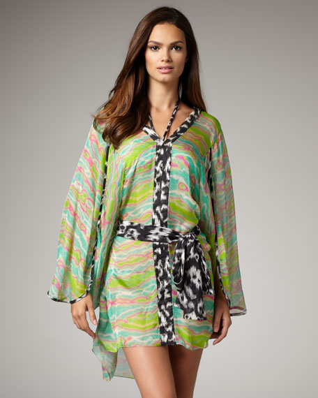 Printed Contrast Coverup
