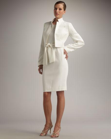 Belted Dress & Bolero Set