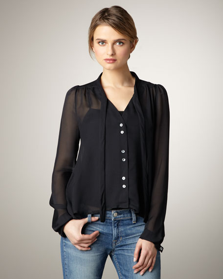 Jamie Silk Blouse