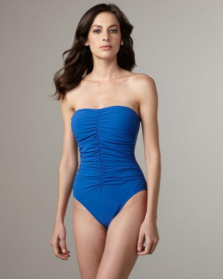 Smartsuit Bandeau One-Piece Swimsuit