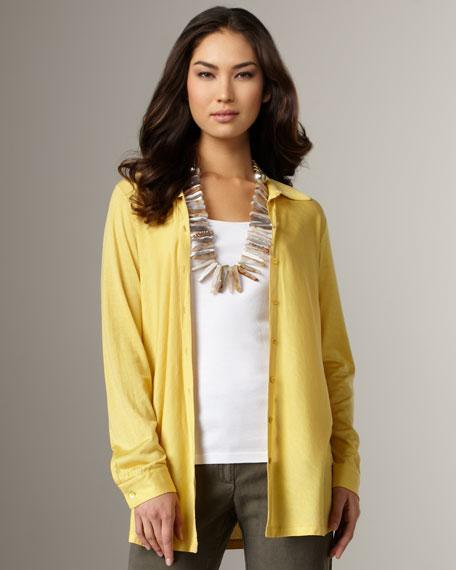 Silk-Jersey Blouse