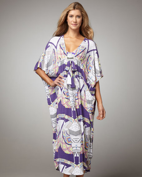 Long Poncho Coverup