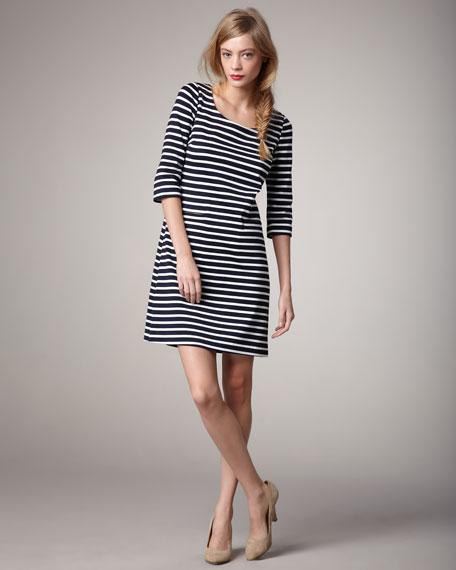 mirna striped dress