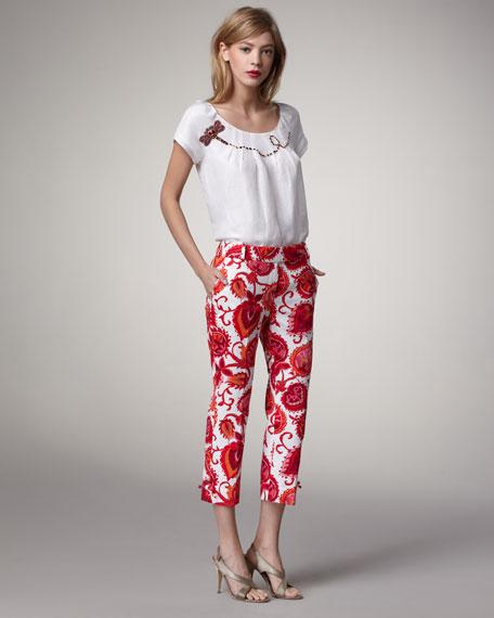 marti paisley-print pants