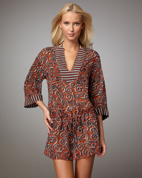 Mixed-Print Coverup