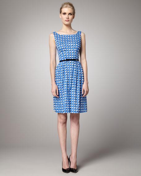 sonja printed dress
