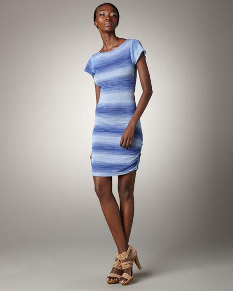 Kella Striped Knit Dress