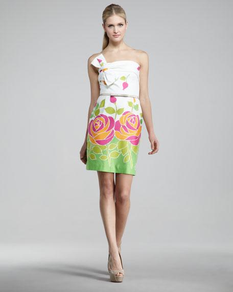 contessa floral-print dress