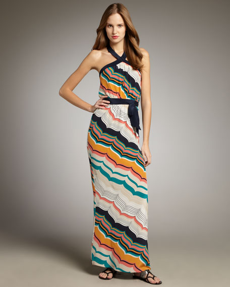 Avedis Striped Maxi Dress