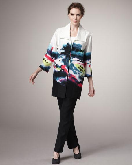 Splash-Print Jacket, Women's