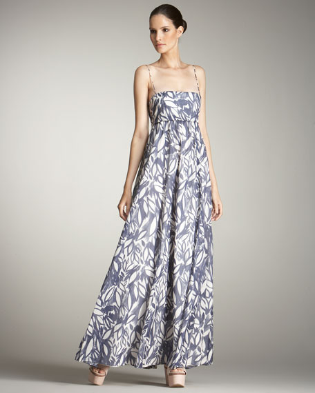 Spaghetti-Strap Maxi Dress