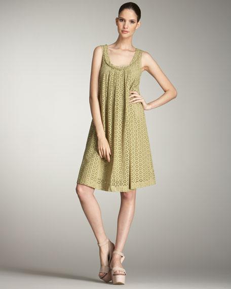 Eyelet Tank Dress