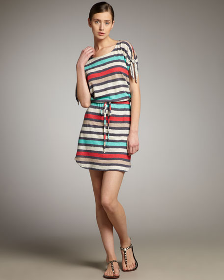 Oasis Striped Dress