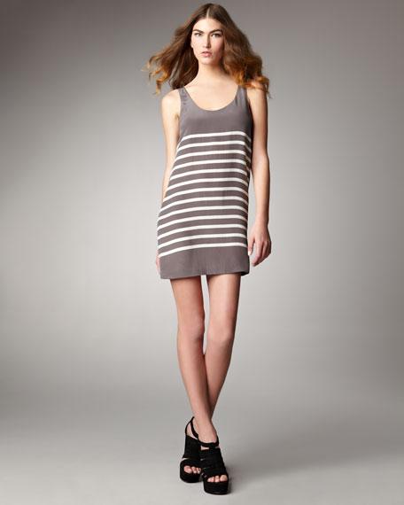 Trudy Striped Sleeveless Dress