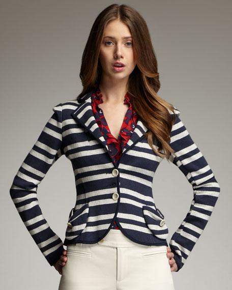 Miss Ohio Striped Jacket