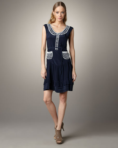 Miss Sunshine Contrast Dress