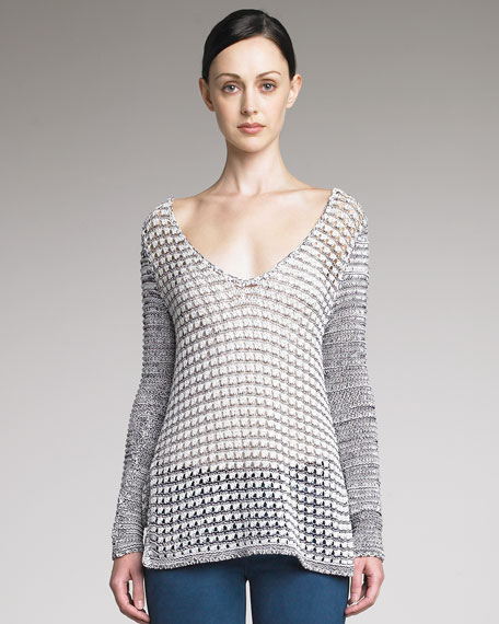 Luminous Cord Sweater