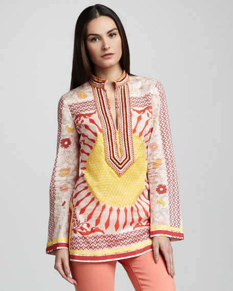Tory Embroidered Tunic