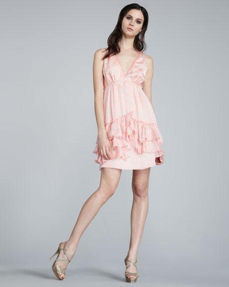 Rebecca Ruffled Dress