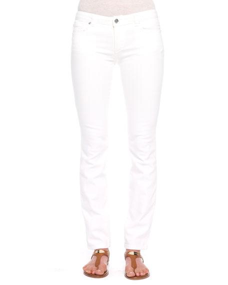 Eyelet Skinny Jeans
