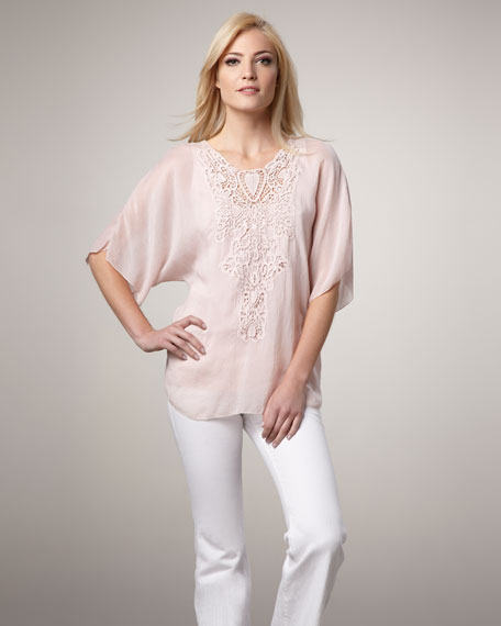 Embroidered Top, Women's