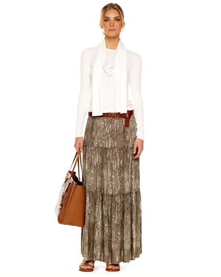Tiered Maxi Skirt, Women's