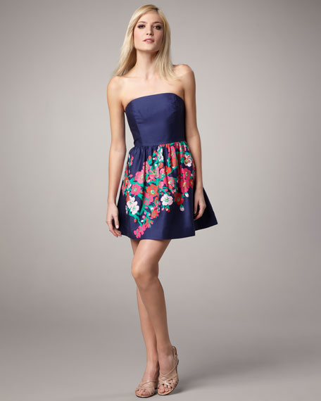 Lottie Strapless Dress
