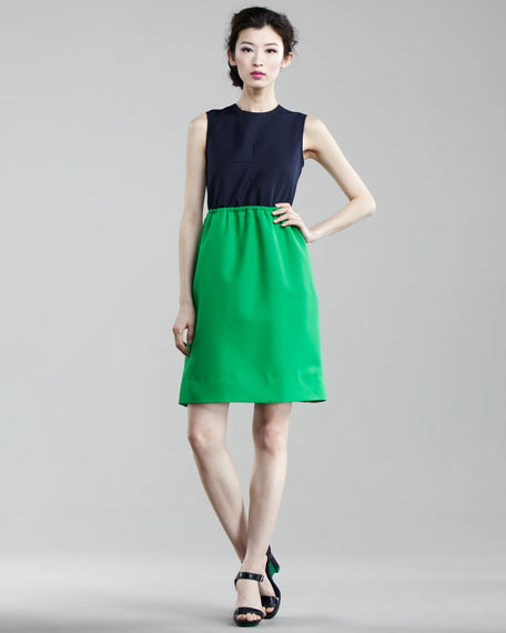 Tate Twill Dress