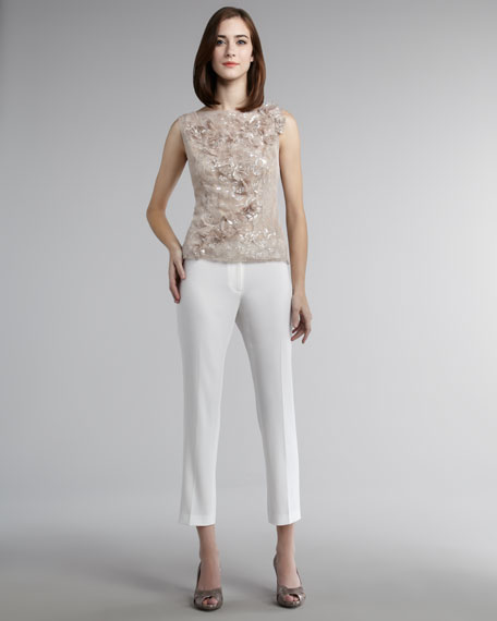 Cropped Evening Pants
