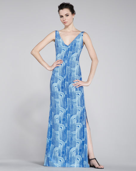 Unna Printed Gown