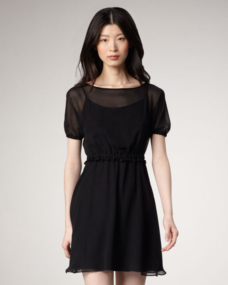 Cunningham Chiffon Dress