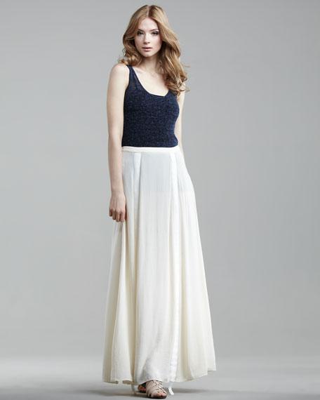 Parachute Maxi Skirt