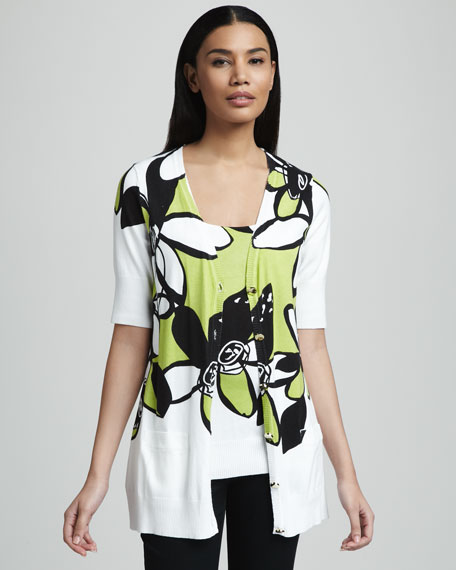 Floral-Print Shell, Women's