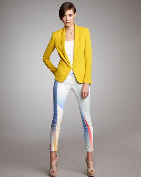 The Legging Goetz Print Jeans