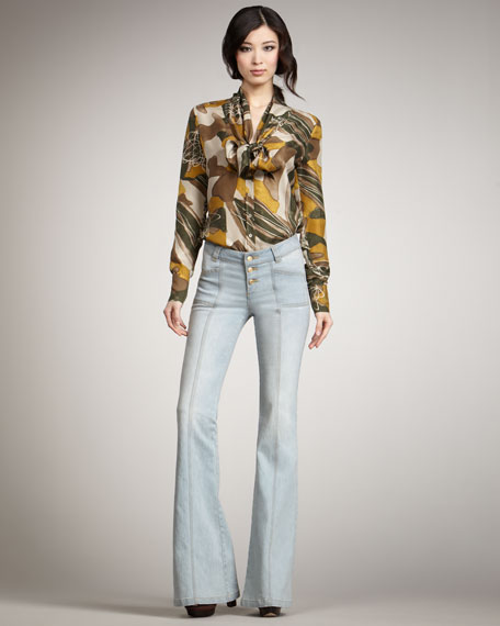Campbell Flare Jeans